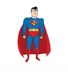 Comic Superman  Vinyl Die-Cut Decal ** 4 Sizes **