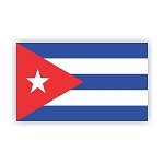 Cuba Flag  Vinyl Die-Cut Decal / Sticker ** 4 Sizes **