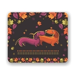 Dachshund Love Mouse Pad 9.25