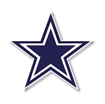 Dallas Cowboys Vinyl Die-Cut Decal ** 4 Sizes **