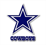 Dallas Cowboys (B) Vinyl Die-Cut Decal ** 4 Sizes **