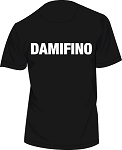 DAMIFINO MEN'S BLACK T-Shirt