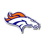 Denver Broncos Vinyl Die-Cut Decal ** 4 Sizes **