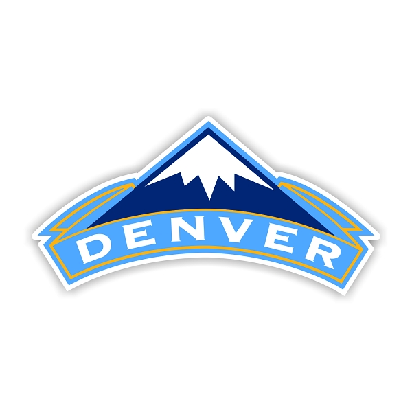 Denver Nuggets Quotes: Denver Nuggets (B) Vinyl Die-Cut Decal / Sticker ** 4 Sizes