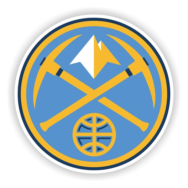 Denver Nuggets Quotes: Denver Nuggets (D) Vinyl Die-Cut Decal / Sticker ** 4 Sizes