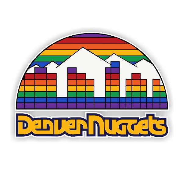 Denver Nuggets Quotes: Denver Nuggets (F) Vinyl Die-Cut Decal / Sticker ** 4 Sizes