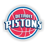 Detroit Pistons Vinyl Decal / Sticker * 4 Sizes*