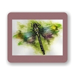 Dragonfly Mouse Pad 9.25