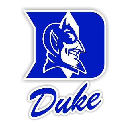 Duke Blue Devils D Die Cut Decal 4 Sizes