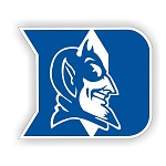 Duke Blue Devils (Alt B) Lettering Vinyl Die-Cut Decal ** 4 Sizes **