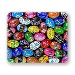 Easter Eggs Mouse Pad 9.25