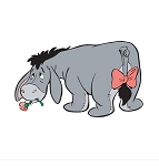 Eeyore Die-Cut Decal ** 4 Sizes **