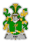 Fay Family  Crest Vinyl Die-Cut Decal / Sticker ** 4 Sizes **