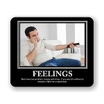 Feelings Mouse Pad 9.25