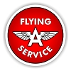 Flying A Service Vinyl Die-Cut Decal / Sticker ** 4 Sizes **