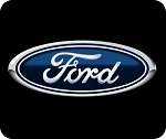 Ford Logo (A)  Mouse Pad  9.25