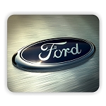 Ford Logo (C)  Mouse Pad  9.25