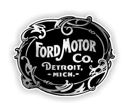 Ford 1903 Vintage Emblem Die Cut Decal 4 Sizes