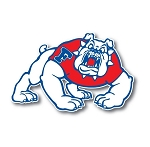 Fresno State University Vinyl Die-Cut Decal / Sticker ** 4 Sizes **