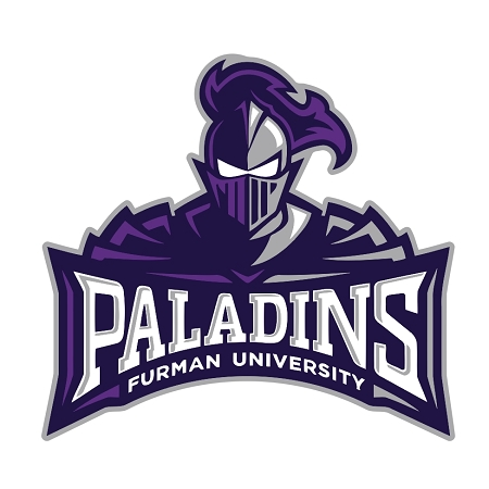 Furman Paladins D Die Cut Decal 4 Sizes