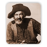 Gabby Hayes Photo Mouse Pad  9.25