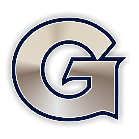 Georgetown Hoyas G Die Cut Decal 4 Sizes