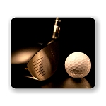 Golf Mouse Mouse Pad 9.25