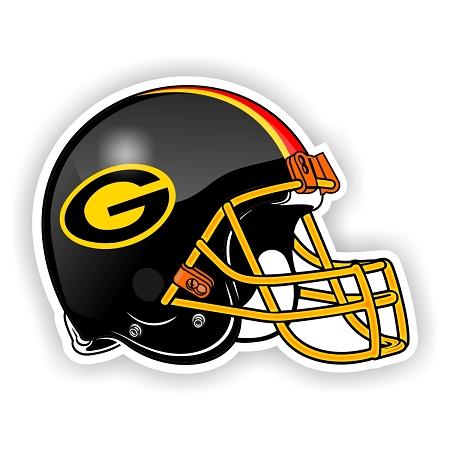 Grambling State University Helmet Vinyl Die Cut Decal