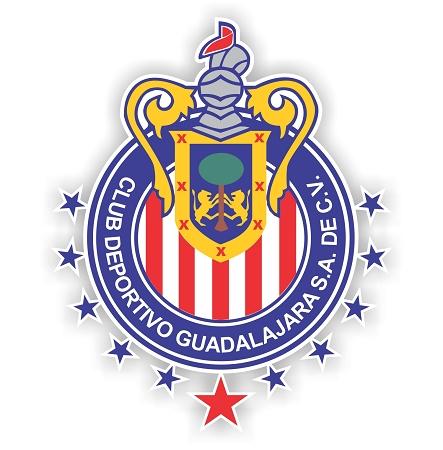 Guadalajara Chivas Soccer Mexico Vinyl Die Cut Decal