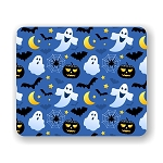 Halloween Ghosts  Mouse Pad 9.25