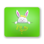 Happy Easter Bunny Mouse Pad 9.25
