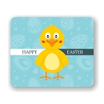 Happy Easter Chick Mouse Pad 9.25