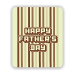 Happy Father's Day Mouse Pad 9.25