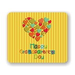 Happy Grandparent Day  Mouse Pad 9.25