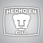 Hecho En Cu Pumas Unam Soccer Mexico Vinyl Die-Cut Decal / Sticker ** 4 Sizes **