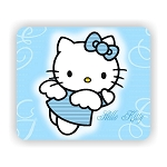 Hello Kitty Angel Mouse Pad  9.25