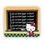 Hello Kitty in Detention Mouse Pad  9.25