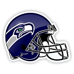 Helmet Seattle Seahawks Die-Cut Decal / Sticker ** 4 Sizes **