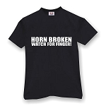 HORN BROKEN WATCH FOR FINGER  MEN'S T-SHIRT