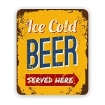Ice Cold Beeer Mouse Pad 9.25