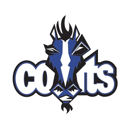 Indianapolis Colts B Vinyl Die-Cut Decal / Sticker ** 4 ...