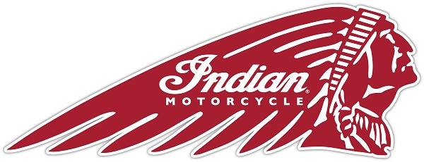 VICTORY MOTORCYCLES USA DIE CUT DECAL PINK