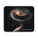 Interacting Galaxies Arp 273 Mouse Pad 9.25