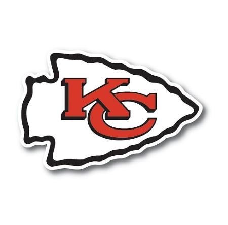 Kansas City Chiefs Vinyl DieCut Decal Sticker Sizes - Custom vinyl stickers kansas city