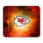 Kansas City Chiefs Mouse Pad 9.25