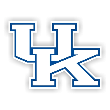 Kentucky Wildcats B Die Cut Decal 4 Sizes