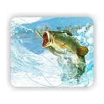 Largemouth Bass Fish (A)  Mouse Pad  9.25