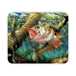 Largemouth Bass Fish (G)  Mouse Pad  9.25