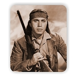 Law of the Plainsman Michael Ansara  Photo Mouse Pad  9.25