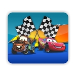 Lightning McQueen & Mater (CARS) Mouse Pad  9.25